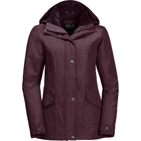 Jack Wolfskin Park Avenue Jacket Women burgundy